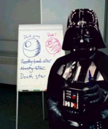 The leader of the brainstorm can sometimes dominate the thinking..